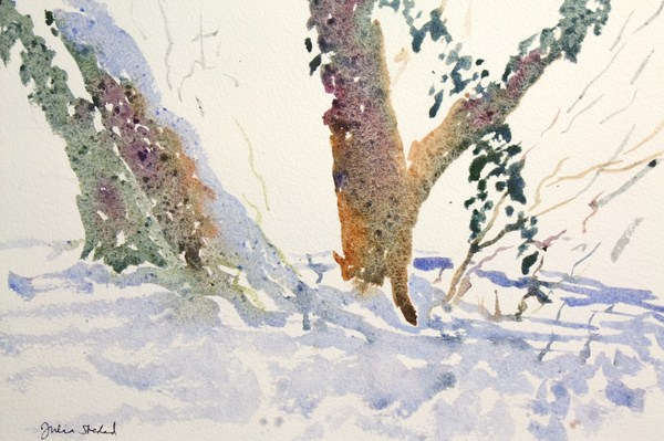 ./newwatercolours/10625Trees with ivy in snow, Hertfordshire_wm.JPG