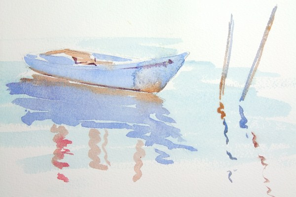 ./newwatercolours/10667Boat with posts, Venice_wm.JPG
